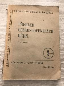 Přehled československých dějin - Šmejkal Eduard