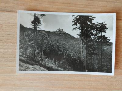 Ještěd - pohlednice (1937)