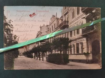 Franzensbad Františkovy Lázně Neuquellstrasse