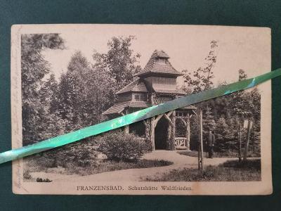 Franzensbad Františkovy Lázně Schutzhutte