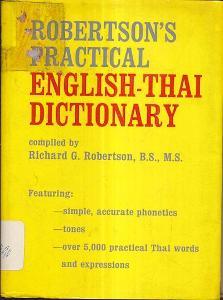 Robertson´s Practical English - Thai Dictionary