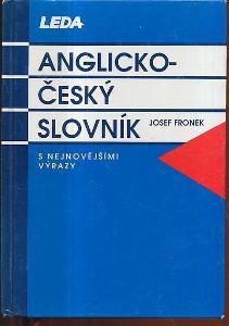 Anglicko - český slovník s nejnovějšími výrazy