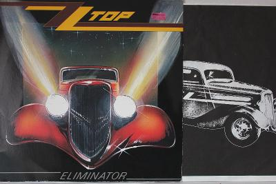 ZZ Top – Eliminator LP 1983 vinyl Francie 1.press super stav EX