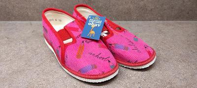 Dětské papuče/bačkůrky s certifikací