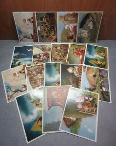 17 x Trnka - Špalíček - pohlednice - cena za vše