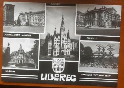 LIBEREC  - STARÁ HISTORICKÁ POHLEDNICE
