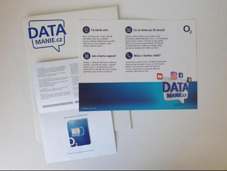 Mobilní Data 100GB (Limitovaná Edice)  - Předplacené služby