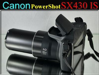 💥 Canon PowerShot SX430 IS **20 MPix*45x Op.Zoom*HDV*WIFI*brašna👍TOP