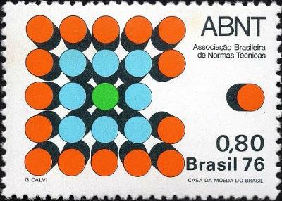 Brazílie 1976 Známky Mi 1577 ** technické normy