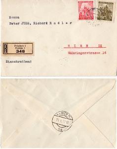 BuM firemný R list 1941 Friedeck-Frýdek do Wiedne