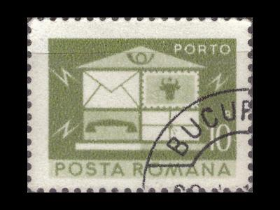 Rumunsko 1974 Mi P120