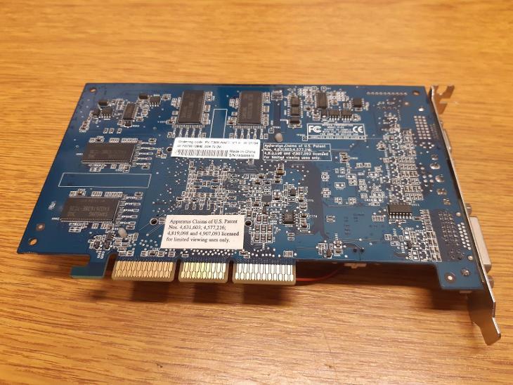 RETRO HW - Grafická karta XFX NVIDIA GeForce FX 5700, 128MB, AGP - Historické počítače