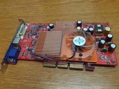 RETRO HW - Grafická karta MSI NVIDIA GeForce FX 5600, 128MB, AGP