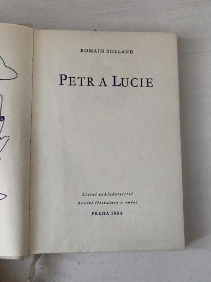 Petr a Lucie - Rolland Romain  - Knihy