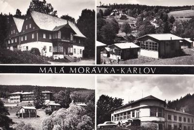 JESENÍKY - MALÁ MORÁVKA - KARLOV - 79-SQ92