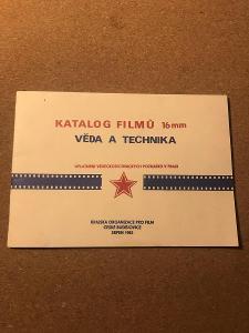 Katalog filmů 16mm - Věda a technika - kolektiv autorů