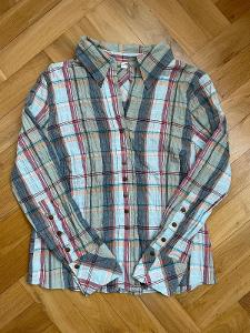 Dámská kostkovaná košile halenka, vel. 42