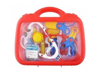 Doktorský set v plastovém kufříku AUKCE od 1 kč A