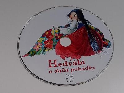 CD Hedvábí pohádky Kouzelník žito Zlatý mužík Král Ječmínek
