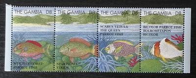 Gambie 1995 Mi.2078-1 13€ Korálové ryby afrických moří