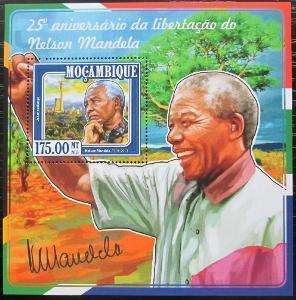 Mosambik 2015 Nelson Mandela Mi# Block 1004 Kat 10€ 2445