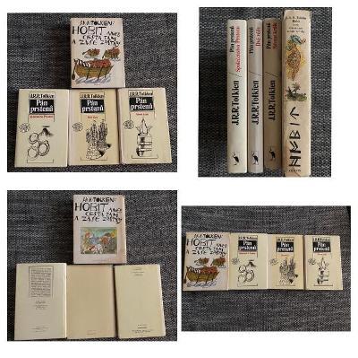 Tolkien HOBIT 1 Vydání 1979 a Pán Prstenů 1 Vydání