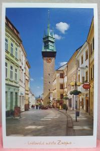 Pohlednice - královské město Znojmo (ČESKO) - popsaná VF