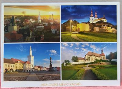 Pohlednice - Město Kadaň (ČESKO) - popsaná VF