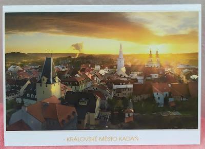 Pohlednice - Královské město Kadaň (ČESKO) - popsaná VF