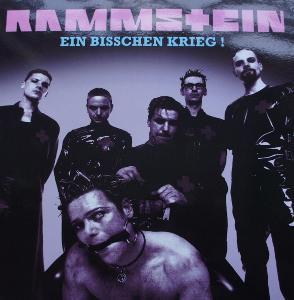 2 LP RAMMSTEIN Ein Bisschen Krieg Raritní !