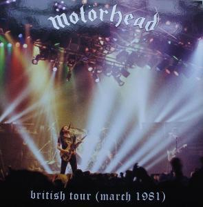 LP MOTORHEAD Britisch Tour 1981 Raritní!