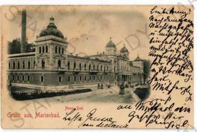Mariánské Lázně Cheb lázeňský dům DA