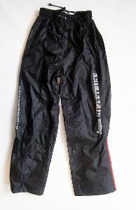 Textilní kalhoty - nepromok - vel. M, pas: 60-84 cm