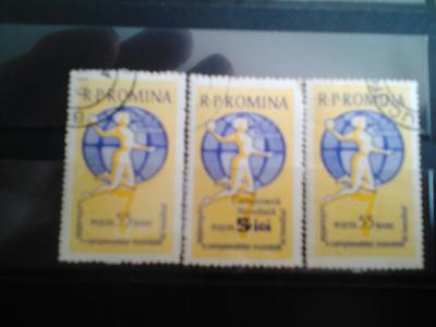 Rumunsko MS v házené 1962 s přetiskem