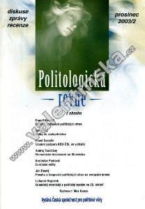 Politologická revue, prosinec 2003/2