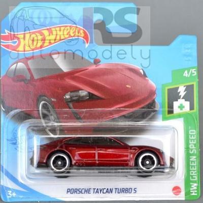 Hot Wheels Porsche Taycan Turbo S - poštovné v popise!