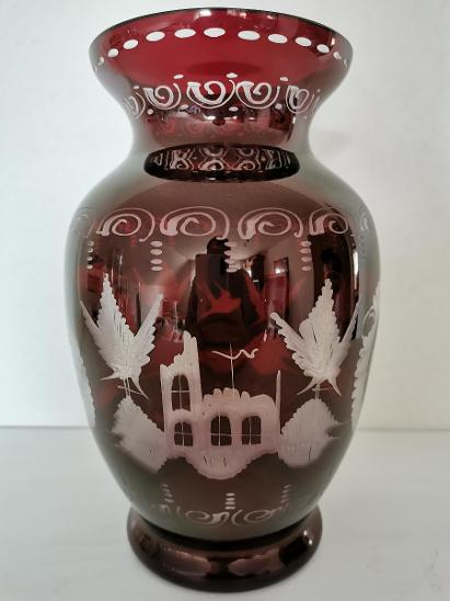 Váza Egermann 22cm - super stav - Starožitnosti