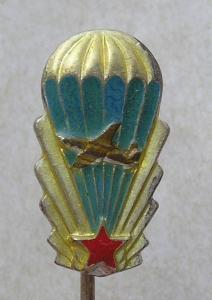 Odznak- PARA - výsadkář - miniatura