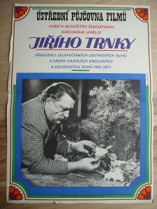 Přehlídka Jiřího Trnky (filmový plakát, loutkový fil