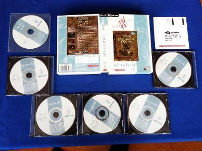 PC - BALDURS GATE - BIG BOX malý (retro 1998) Top