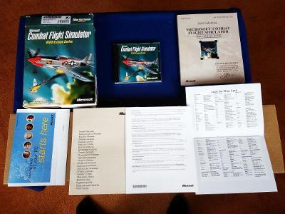 PC - COMBAT FLIGHT SIMULATOR WWII EUROPE SE - BIG BOX (retro 1998) Top