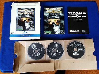 PC - COMMAND a CONQUER (EA) - BIG BOX (retro 1995) Top