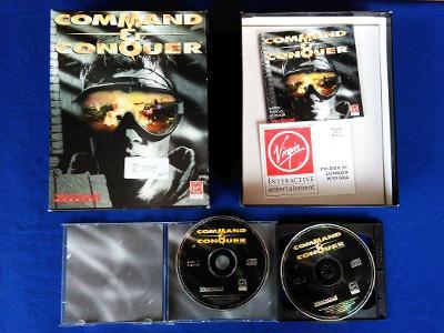 PC - COMMAND a CONQUER - BIG BOX (retro 1995) Top