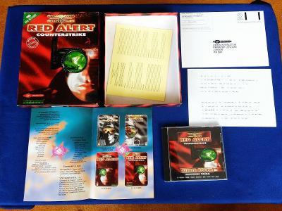 PC - COMMAND a CONQUER RED ALERT COUNTERSTRIKE BIG BOX (retro 1997)Top