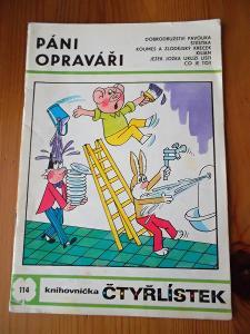 ČTYŘLÍSTEK 114 PÁNI OPRAVÁŘI - r. 1983
