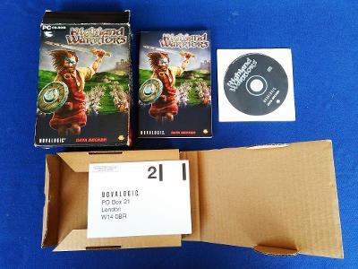 PC - HIGHLAND WARRIORS - BIG BOX malý (retro 2003) Top