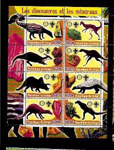 Kongo 2004 - dinosauři a minerály I.