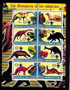 Kongo 2004 - dinosauři a minerály II.