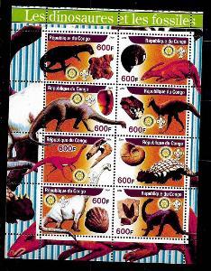 Kongo 2004 - dinosauři a fosílie I.