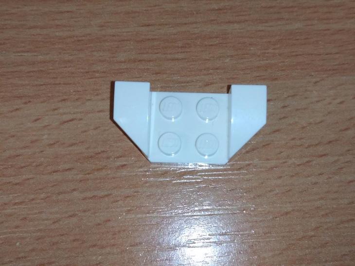 Lego díl 41854 - blatník bílý - Hračky